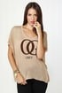 Obey OG Leopard Light Brown Tee