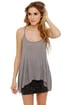 Just the Essentials Light Grey Tank Top