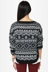 Roxy Elm Black Knit Sweater