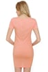 Photogenic Short Sleeve Light Pink Dress