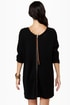 Volcom Sin Ombre Black Sweater Dress