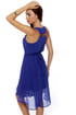 Lay-Yours Truly Cobalt Blue Dress