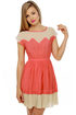 Great Apex-tations Coral Dress