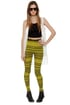 Your Tribe Has Spoken Yellow Print Leggings