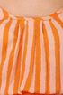 Collective Concepts Mangotini Striped Orange Dress