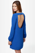 Set the Stage Backless Royal Blue Dress