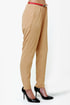 High-Waisted Hopes Beige Pants