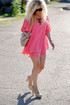 Lucy Love Gabriella Coral Pink Dress