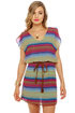 Lucy Love Acapulco Multi Striped Dress