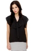 The Great Flutter Black Top