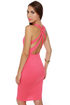 Wear-withal Coral Pink Dress