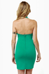 Breakbeats Teal Halter Dress
