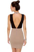Starlet Wars Taupe Halter Dress