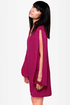 Out of Arm\\\\\\\'s Way Magenta Shift Dress