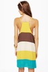 Blockie Talkie Color Block Dress