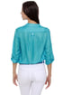 Really Rosebud Sky Blue Top