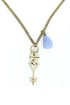 Obey Dark Crystal Gold Necklace