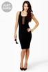 LULUS Exclusive Last Kiss Black Dress