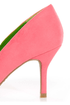 Bamboo Deluxe 01 Coral Pointed Pumps