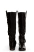 Bamboo Eastwick 01 Black Studded Riding Boots