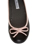 CL by Laundry Get Down Hudson Black and Pink Ballet Flats