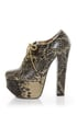 Luichiny Fass In Ate Snake Platform Oxford Heels