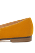 Qupid Strip 40 Mustard Velvet Tassel Smoking Slipper Flats