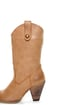 Very Volatile Telluride Camel Burnished Cowboy Boots