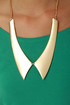 Last Minute Finish Gold Collar Necklace