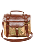 Happily Ever Atlas Map Print Satchel