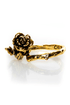 Obey Twisted Rose Gold Ring