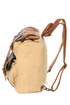 Travel Journal Beige Canvas Backpack