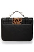 Cheetahs Always Win Animal Print Black Purse