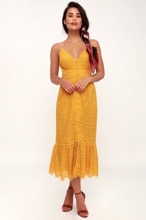 Yellow Bridesmaid Cocktail Dresses Under 100 At Lulus