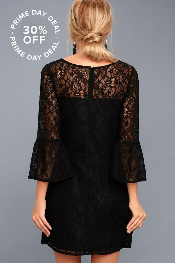 Billie Black Lace Dress