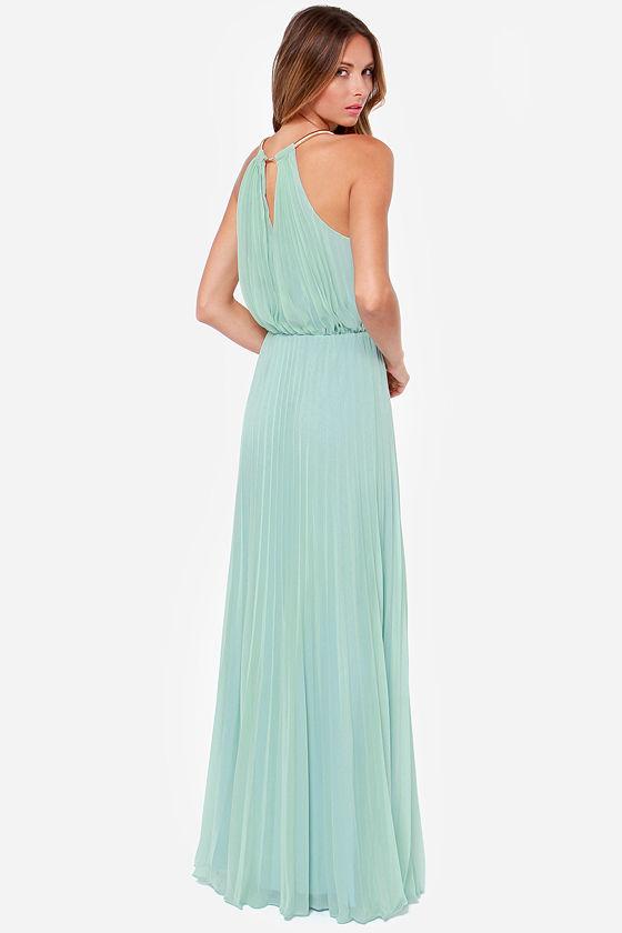 Bariano Melissa Dress - Sage Green Dress - Maxi Dress - $228.00