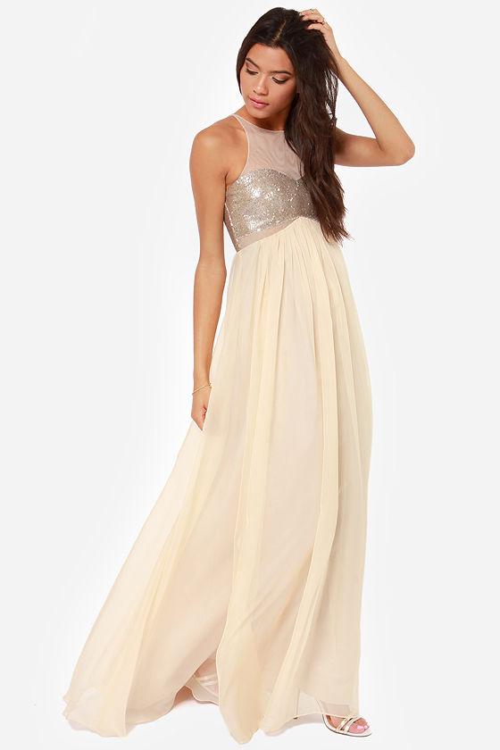 Bariano Janet Dress - Sequin Dress - Prom Dress - $217.00