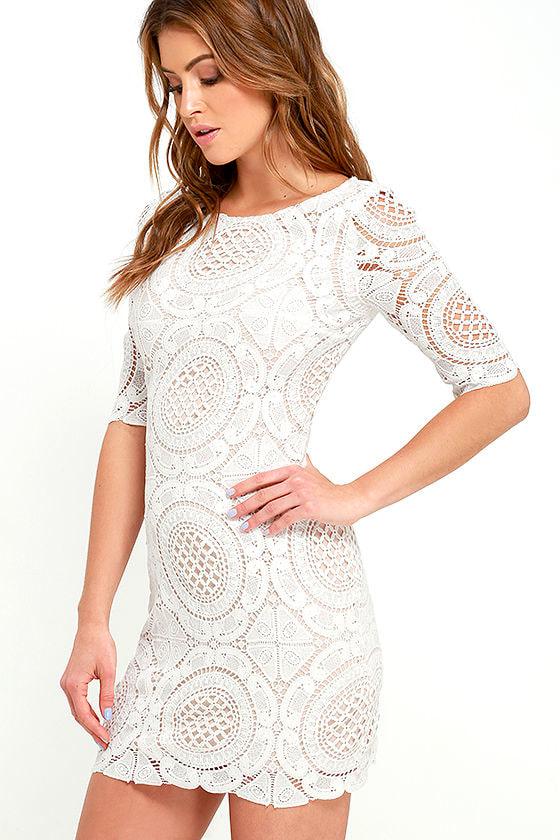 Long sleeve bodycon homecoming dresses