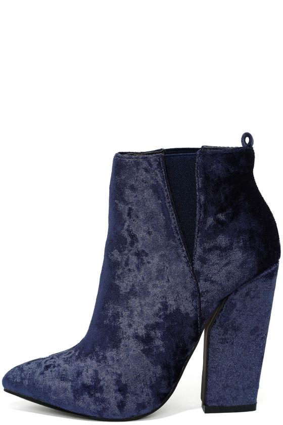shoeb76Classic ankle boots - dark blue 9FlYU