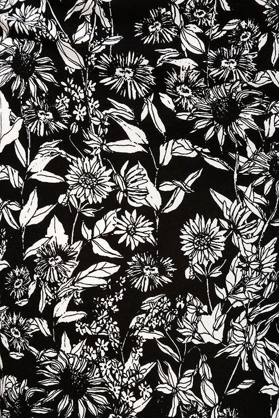 Cute print pants black and white floral print pants wide leg besame rapido black and white floral print wide leg pants mightylinksfo