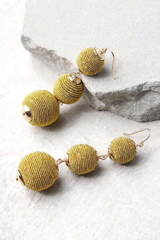 Dawn Days Gold Earrings