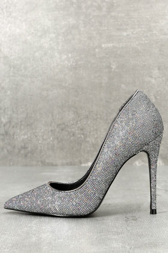 Steve Madden Daisie Metallic Pumps