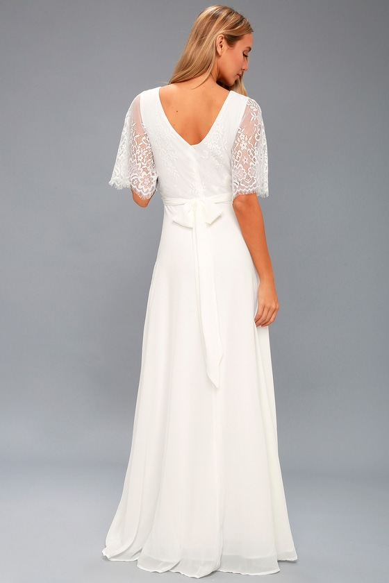 Overlay Maxi Dress