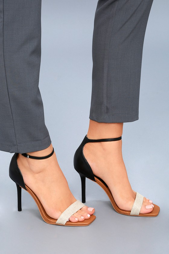 Ankle-strap Sandals Navy Dolce Vita