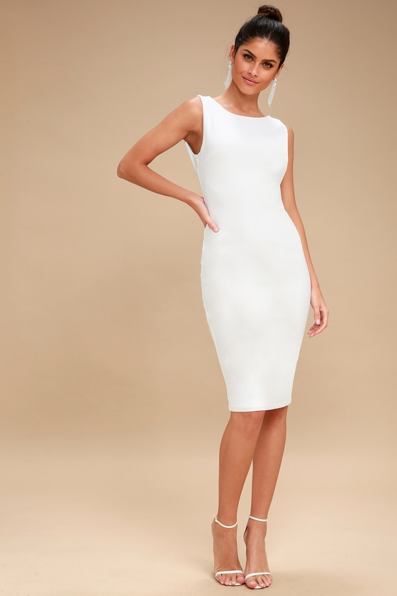 Shop affordable, unique backless white midi dress designed by top fashion designers worldwide. Discover more latest collections of Dresses at heresfilmz8.ga