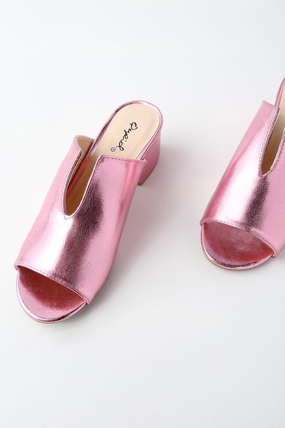 Mellow YellowDIRINA - Mules - pink oRYrahCZe9
