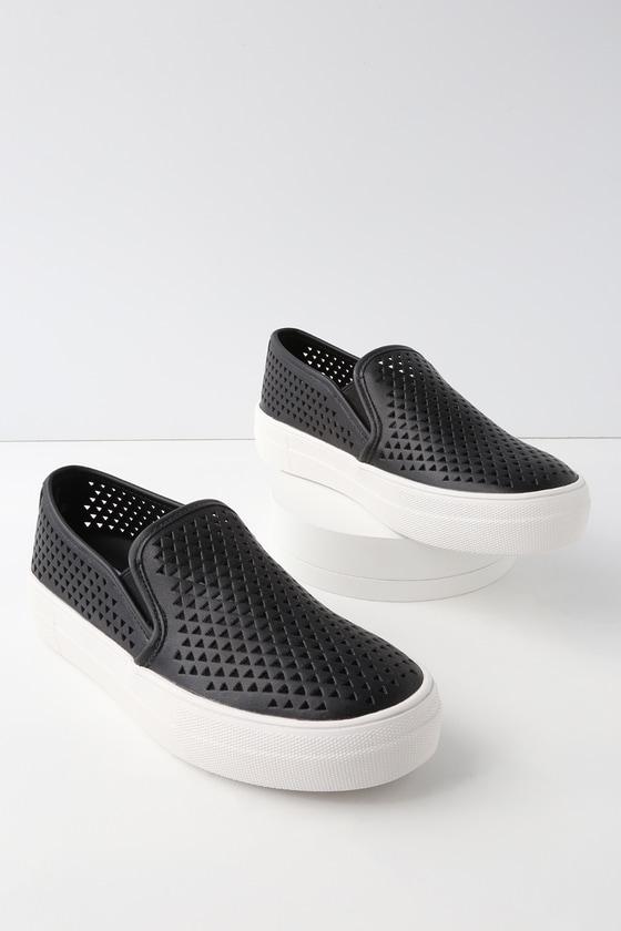 Lulus Anchor Black Sneakers - Lulus YuqnkjzR