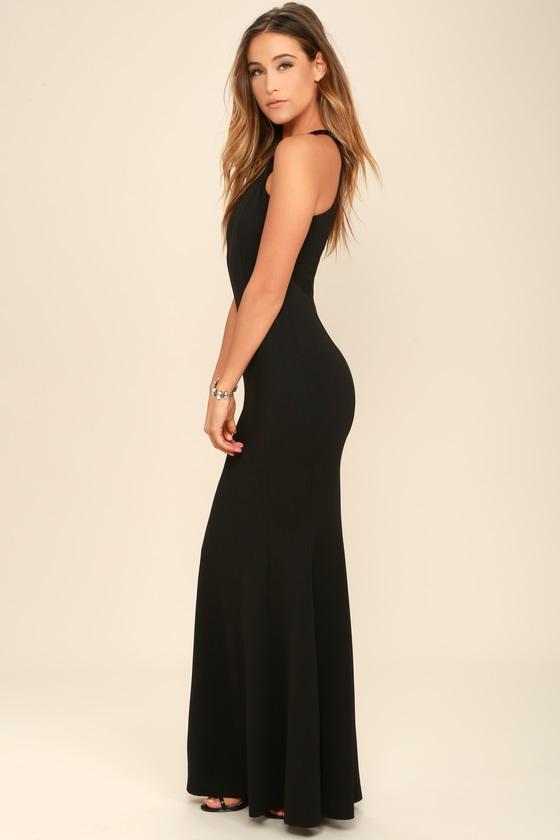 Girls Black Maxi Dress