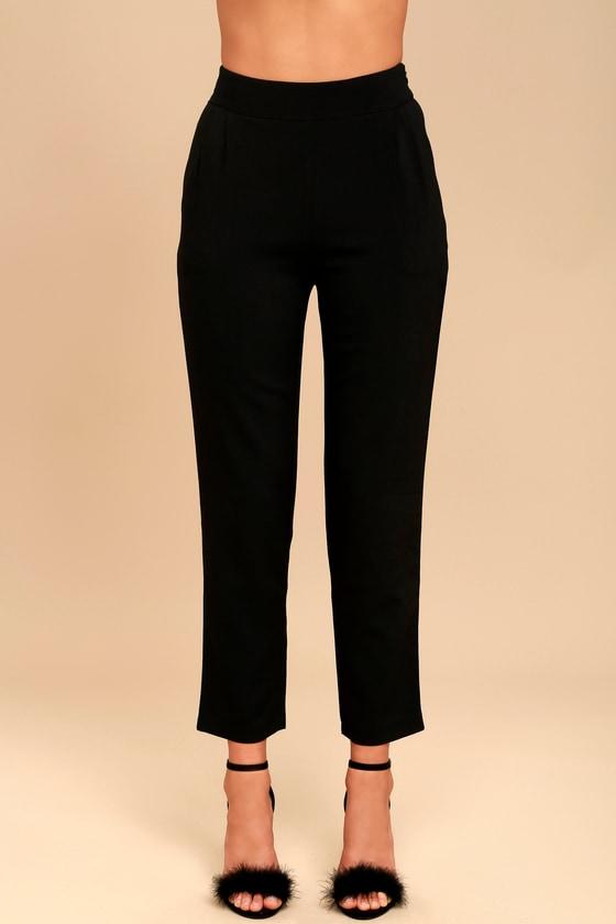 chic black pants trouser pants dress pants