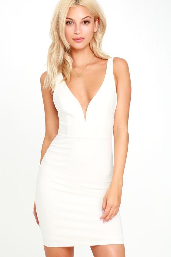Sexy white dresses